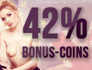 The hotter alternative: Cash in 42% extra coins today!